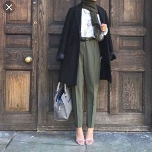 Stella McCartney olive trousers